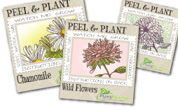 plant stamps general stickers